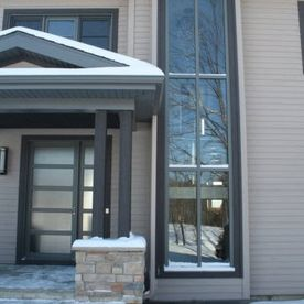 Aluminum architectural windows
